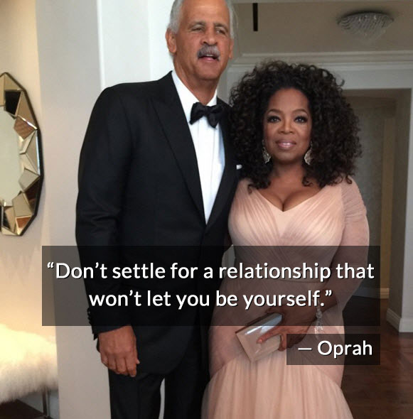 Oprah relationship quote
