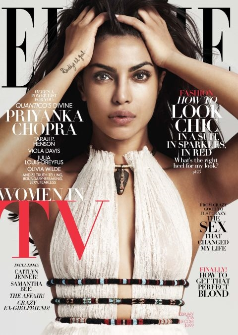 US Elle February 2016 : The Women In TV Issue