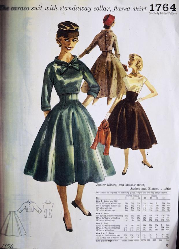 1950s skirts