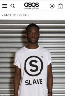 ASOS Removes 'Slave' Shirt Listing From Site After Uproar