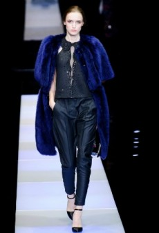 Armani Goes Completely Fur-Free Starting With the Fall 2016 Season