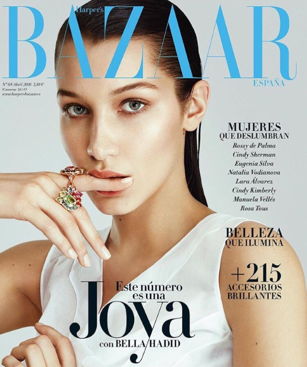 Harper's Bazaar España April 2016 : Bella Hadid by Txema Yeste