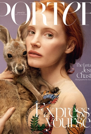 Porter #14 Summer 2016 : Jessica Chastain by Ryan McGinley