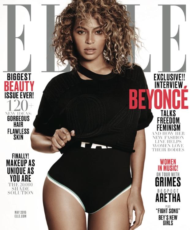 US Elle May 2016 : Beyoncé by Paola Kudacki