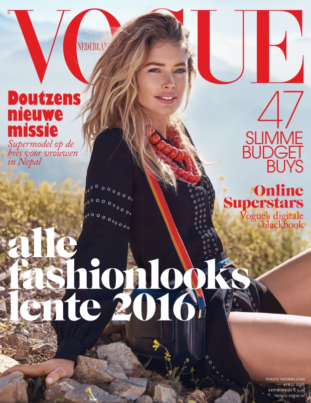Vogue Netherlands April 2016 : Doutzen Kroes by Duy Vo