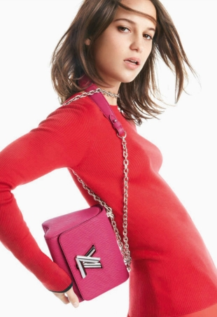 Louis Vuitton Handbags S/S 2016 : Alicia Vikander by Patrick Demarchelier