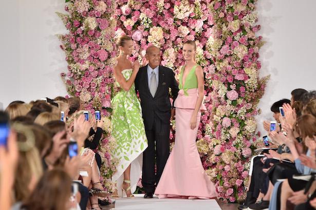 Oscar De La Renta - New York Mercedes-Benz Fashion Week Spring 2015 / Image: Getty