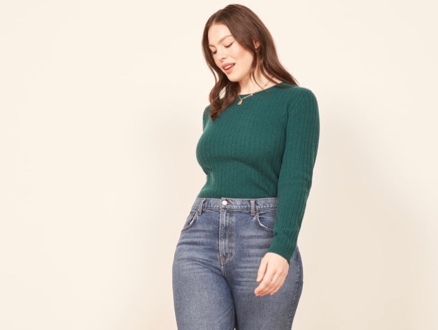 67ec045e121 Best High-Waisted Jeans for Every Body Type - theFashionSpot