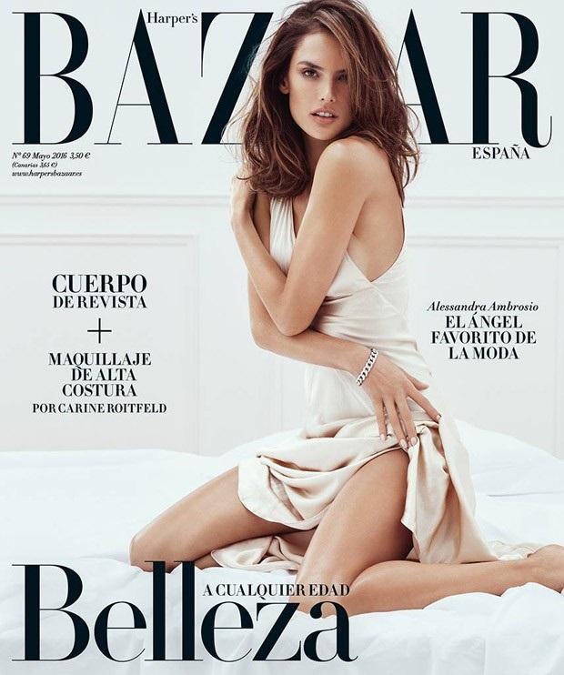 Harper's Bazaar España May 2016 : Alessandra Ambrosio by Txema Yeste