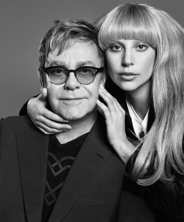 Elton John and Lady Gaga collaborate on a line for Macy's.