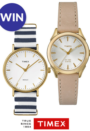 The Fashion Spot Timex Watch Giveaway