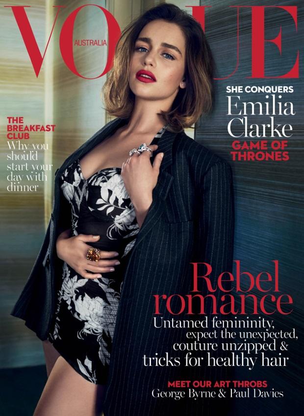 Vogue Australia May 2016 : Emilia Clarke by Emma Summerton