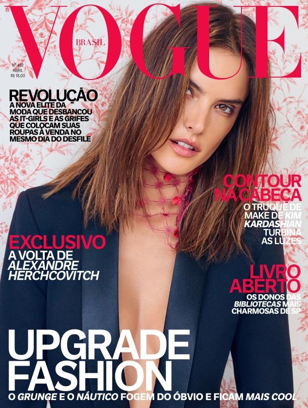 Vogue Brazil April 2016 : Alessandra Ambrosio by Mariano Vivanco