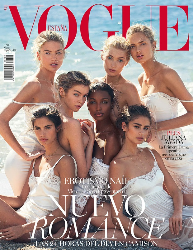 Vogue España May 2016 : The Victoria's Secret Angels by David Bellemere