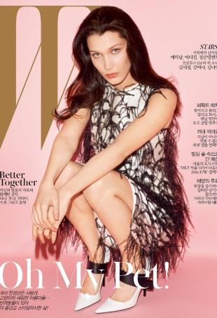 W Korea May 2016 : Bella Hadid by Terry Richardson