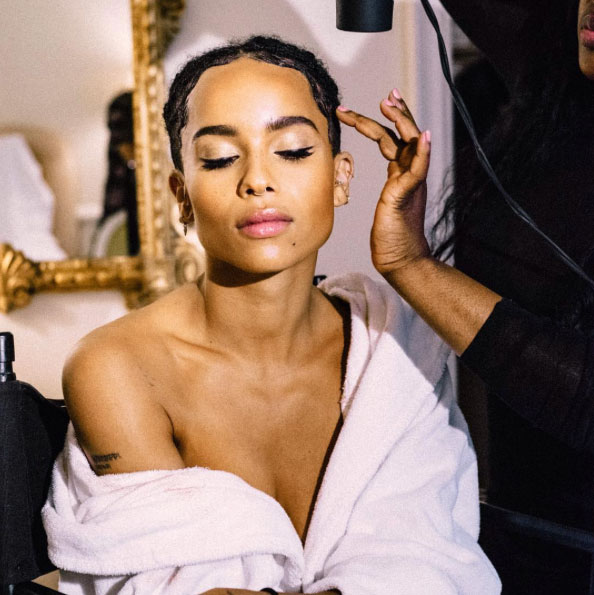 Zoe Kravitz makeup at Met Gala, YSL Beauty