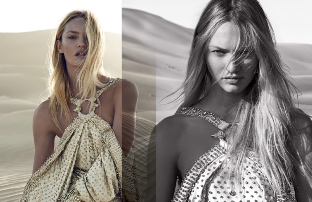 Givenchy 'Dahlia Divin Le Nectar' Fragrance: Candice Swanepoel by Peter Lindbergh