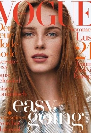 Vogue Germany June 2016 : Rianne van Rompaey by Daniel Jackson