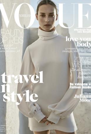 Vogue Netherlands June 2016 : Julia Bergshoeff by Annemarieke van Drimmelen