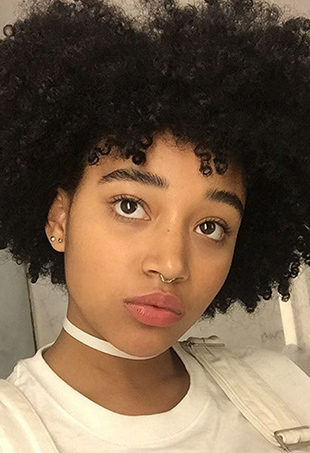 Amandla Stenberg took time out of her precious hours before prom to dole out advice to Rookie magazine readers via video.