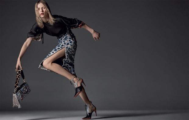 Christian Dior F/W 2016.17 : Julia Nobis by Steven Meisel