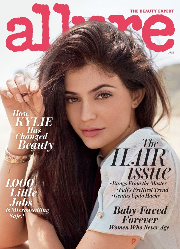 Allure August 2016 : Kylie Jenner by Scott Trindle