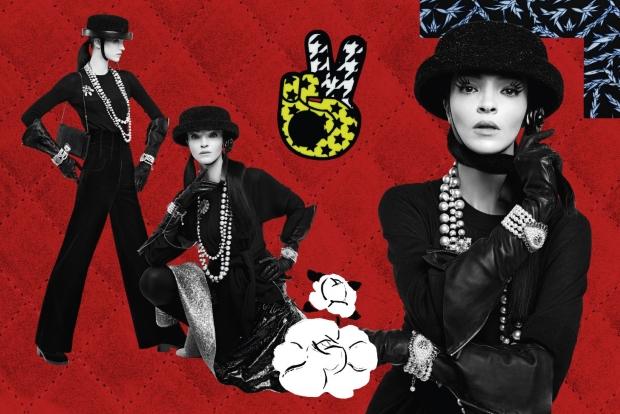Chanel F/W 2016.17 : Mariacarla Boscono & Sarah Brannon by Karl Lagerfeld