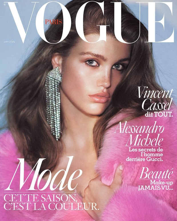 Vogue Paris August 2016 : Luna Bijl by David Sims