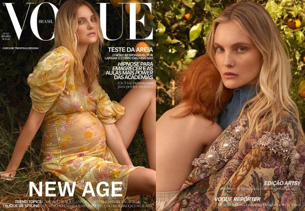 Vogue Brazil September 2016 : Caroline Trentini by Zee Nunes