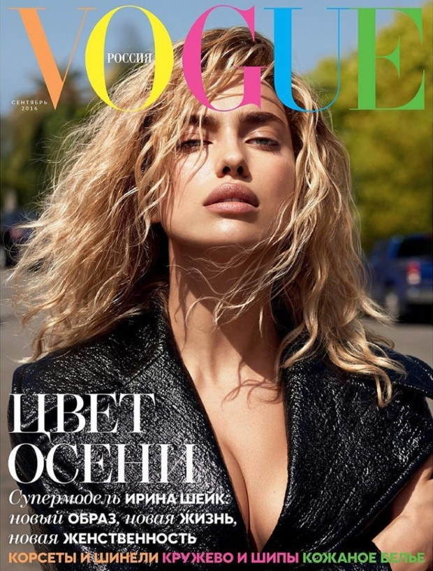 Vogue Russia September 2016 : Irina Shayk by Mert Alas & Marcus Piggott