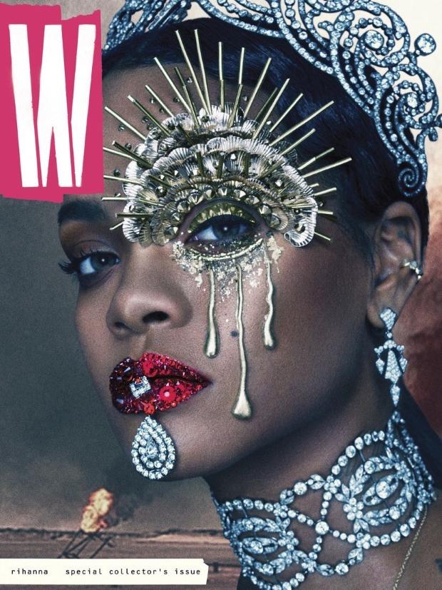 W September 2016 : Rihanna by Steven Klein