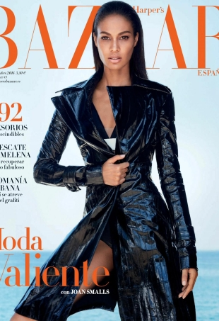 Harper's Bazaar España October 2016 : Joan Smalls by Txema Yeste