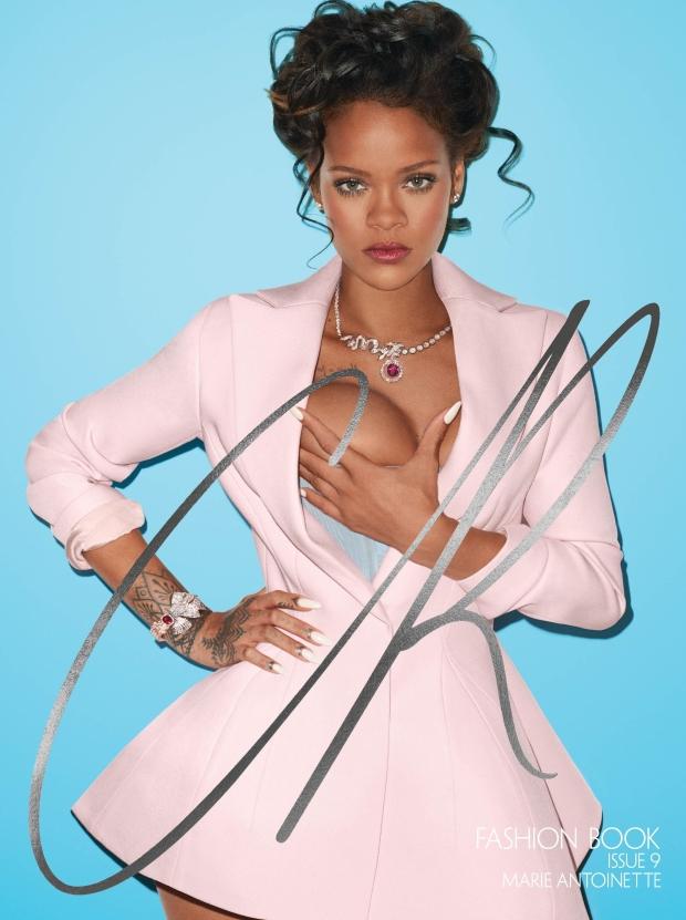 CR Fashion Book #9 : Rihanna by Terry Richardson