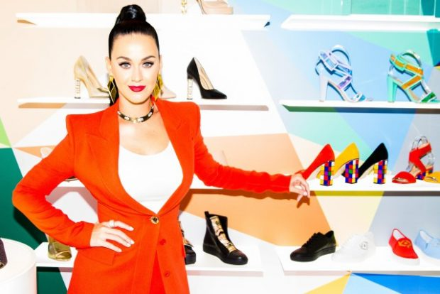 Katy Perry: pop star turned footwear mogul