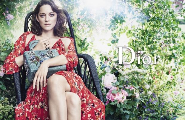 Christian Dior 'Lady Dior' Handbags F/W 2016.17 : Marion Cotillard by Craig McDean