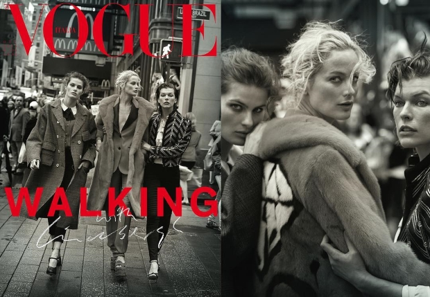 Vogue Italia October 2016 by Peter Lindbergh