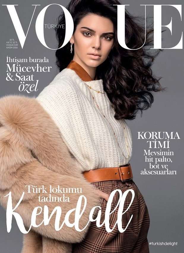 Vogue Turkey November 2016 : Kendall Jenner by Russell James