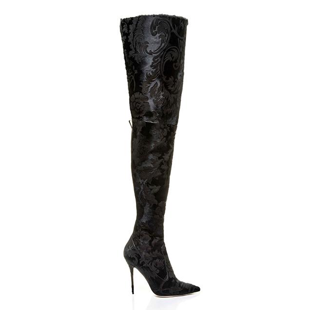 Rihanna x Manolo Blahnik's Dominique Over-The-Knee Boot