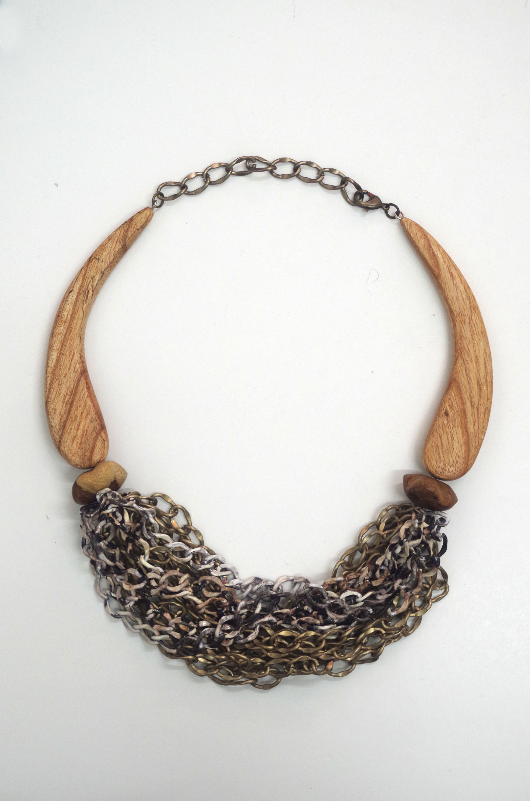 Necklace from Iris Apfel's trunk show.