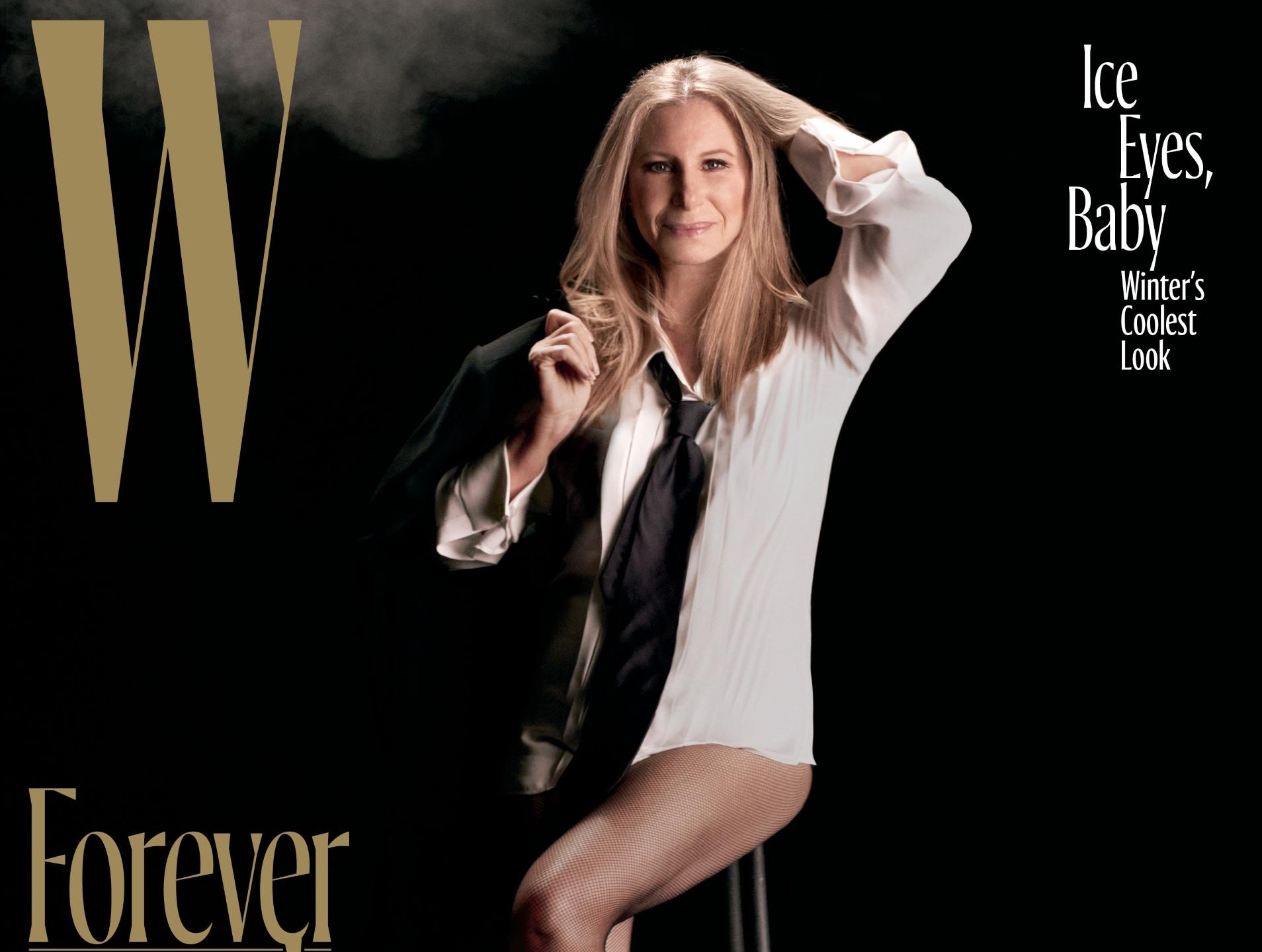 Barbra Streisand W Mag...