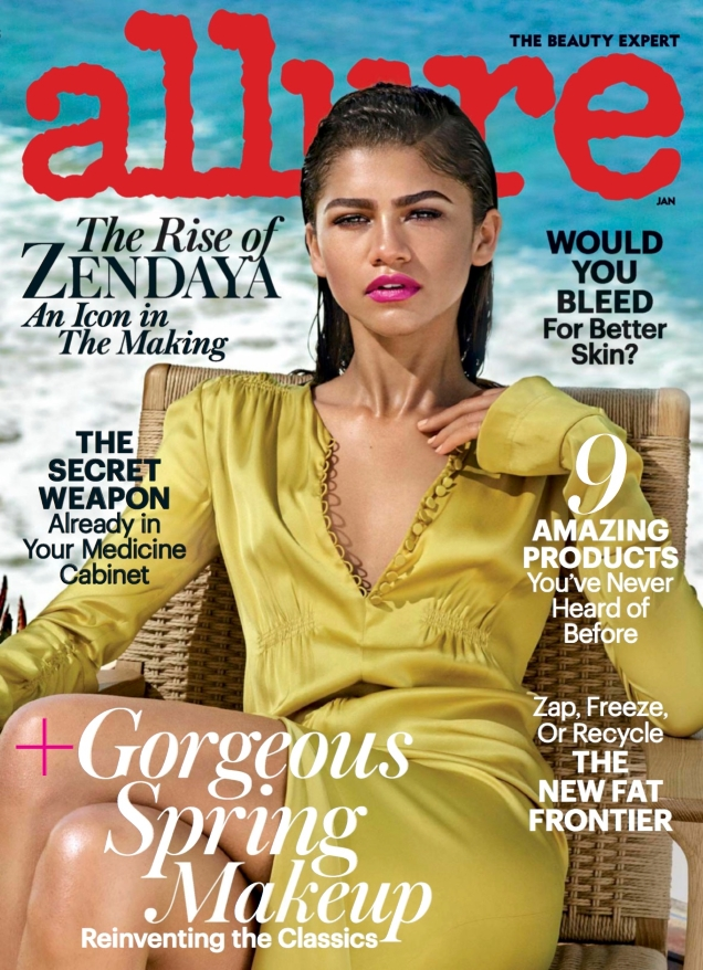 Allure January 2017 : Zendaya by Jason Kibbler