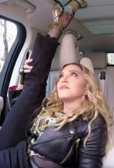 Madonna Drops a Bombshell on Carpool Karaoke