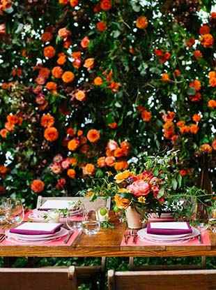 Brooklyn wedding planner Jove Meyer and Seri Kertzner, Michelle Bachman and Abby Copleston of Little Miss Party Planner predict 2017's top wedding trends.