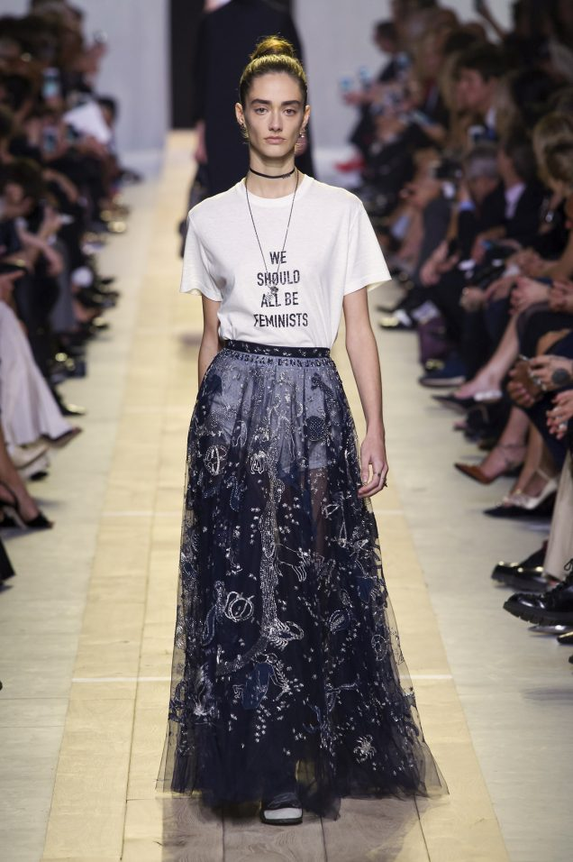 d4fab331 Trend Alert: We Should All Be Wearing Feminist Tees · Cordelia Tai January  26th, 2017. 0 0 0. Image: Imaxtree