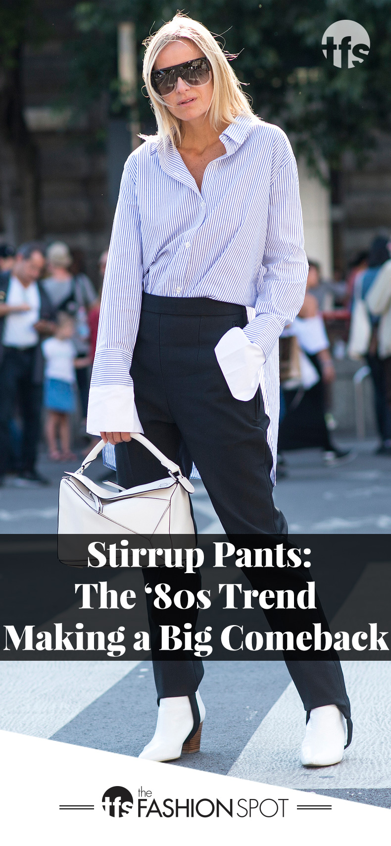 Fashion Trend 2017: Stirrup Pants Are Making a Comeback