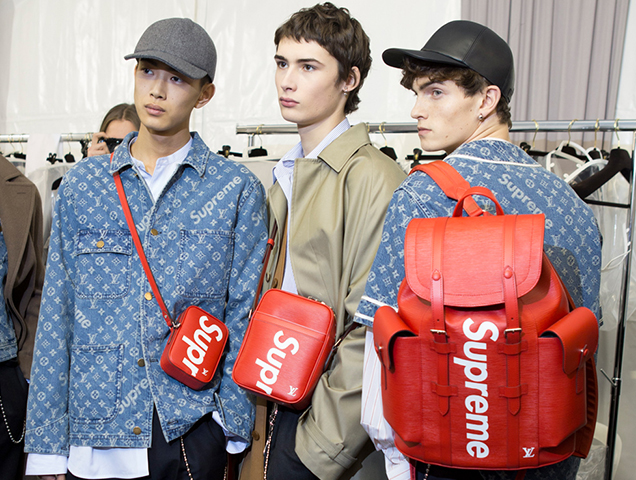 Here s the Louis Vuitton x Supreme Collab Everyone s Freaking Out ... ecc0b043f7c