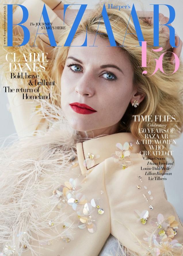 UK Harper's Bazaar February 2017 : Claire Danes by Alexi Lubomirski