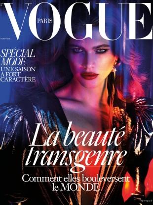 Vogue Paris March 2017 : Valentina Sampaio by Mert Alas & Marcus Piggott