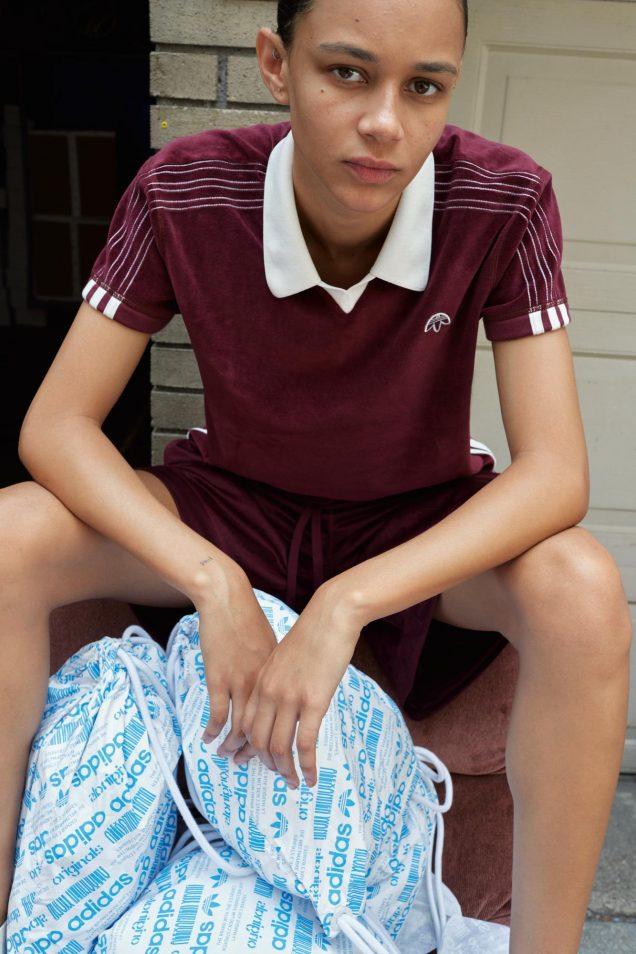 Binx Walton for Alexander Wang x Adidas Originals.