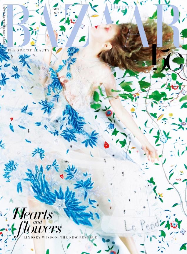 UK Harper's Bazaar May 2017 : Lindsey Wixson by Erik Madigan Heck